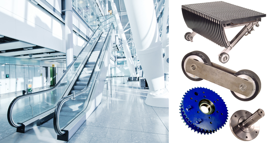 Precision Escalator | Escalator Parts | Escalator Cleaning